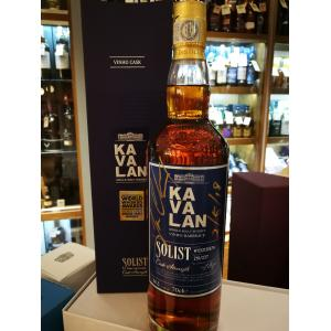 Kavalan Solist Vinho Barrique Limited Edition Signed Bottle Whisky - 70cl 56.3%