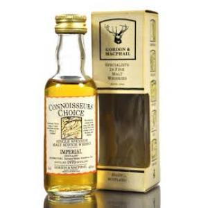 Imperial 1970 Connoisseurs Choice Single Malt Scotch Whisky Miniature - 5cl 40%