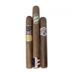 Intro to Exclusive Connecticut Wrapper Sampler – 3 Cigars