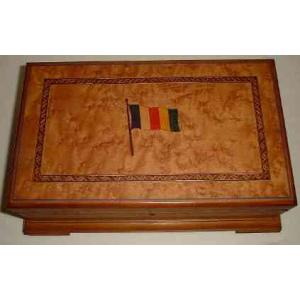 Cigar Cabinet with Dedication to SR President of Cuba