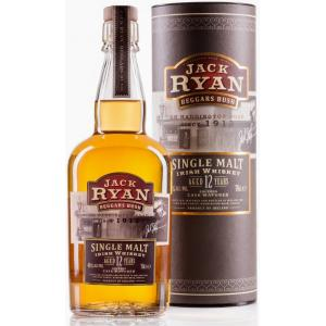 Jack Ryan 12 Year Old Beggars Bush Single Malt Irish Whiskey - 70cl 46%