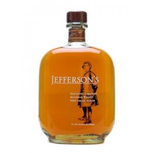 Jeffersons Small Batch Bourbon - 75cl 41.2%