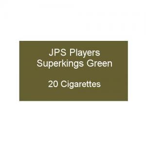 JPS Superkings Green - 1 pack of 20 cigarettes (20)