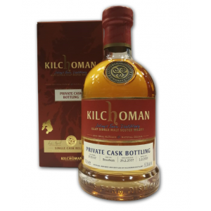 Kilchoman Bourbon 2007 Private Cask Bottling - 55.3% 70cl