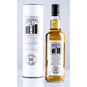 Kilkerran 12 Year Old Single Malt Scotch Whisky - 70cl 46%