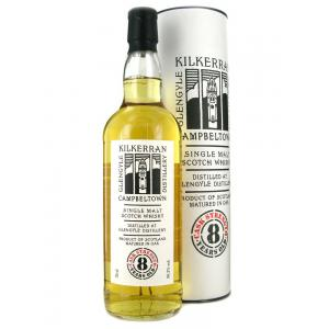 Kilkerran 8 Year Old Cask Strength Single Malt Scotch Whisky - 70cl 56.2%
