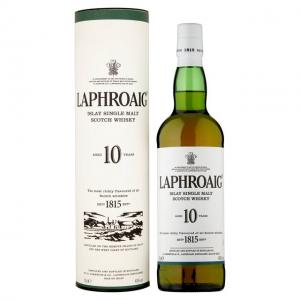 Laphroaig 10 Year Old - 40% 70cl