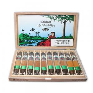 La Rosa de Sandiego Petit Boquet Maduro Cigar - Box of 10