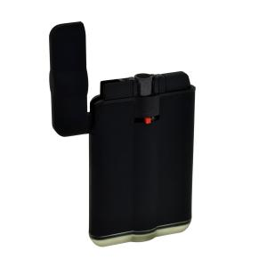 Easy Torch Slimline Design Single Jet Lighter - Black