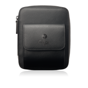 Colibri Explorer Leather Travel Case - Black