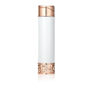 Colibri Allure Ladies Soft Flame Lighter - White & Rose