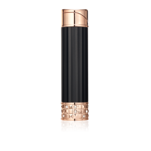 Colibri Allure Ladies Soft Flame Lighter - Black & Rose