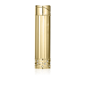 Colibri Allure Ladies Soft Flame Lighter - Polished Gold