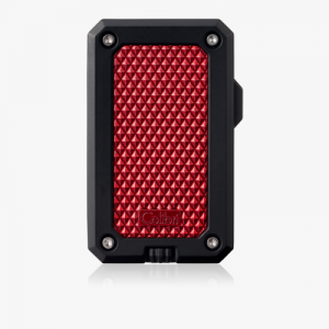 Colibri Rally Single-jet Flame Lighter - Black & Red