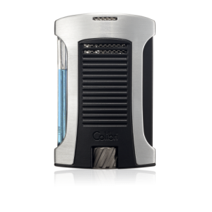 Colibri Daytona Single-jet Flame Lighter - Chrome & Black