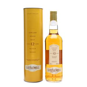 Littlemill 12 Year Old Vintage Single Malt Scotch Whisky - 70cl 40%