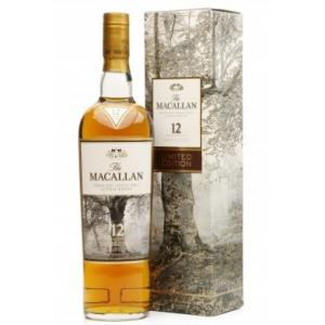 Macallan 12 Year Old Sherry Oak Limited Edition Single Malt Whisky - 70cl 40%