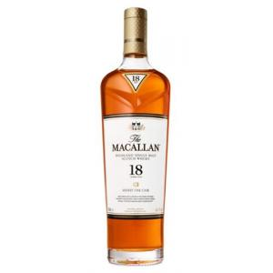 Macallan 18 Year Old 2018 Sherry Oak Without Presentation Box - 70cl 43%