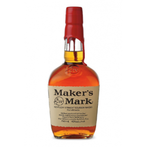 Makers Mark Kentucky Straight Bourbon Whiskey - 70cl 45%
