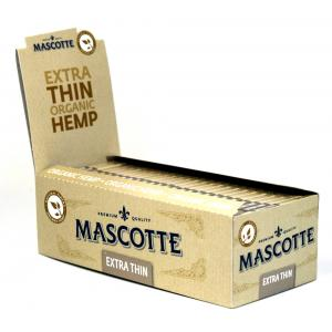 Mascotte Extra Thin Organic Rolling Papers 50 packs