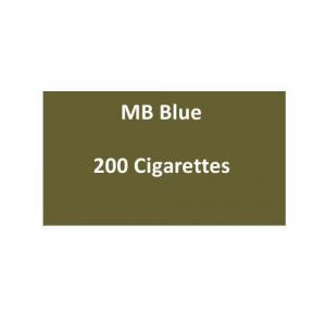 MB Blue Cigarettes - 10 packs of 20 cigarettes (200)