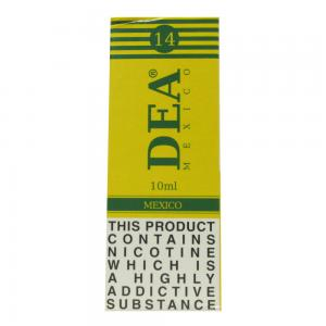 DEA Mexico Vape E- Liquid 10ml 14mg