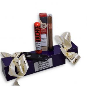 Christmas Gift - Cigar Celebration Cracker – 3 Tubed New World Cigars