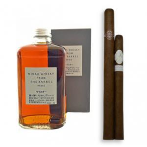 Long and Satisfying Pairing - Nikka Japanese Whisky and Cigar Selection Sampler