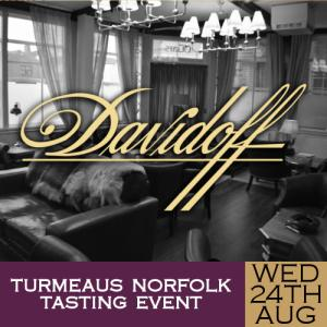 Turmeaus Norfolk Cigar and Spirit Tasting Event - 24/08/19