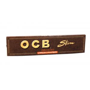 OCB Unbleached Slim King Size Virgin Rolling Papers 1 Pack