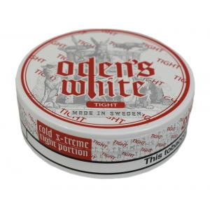 Odens Cold Extreme White Tight Portion Chewing Tobacco Bag - 1 Tin