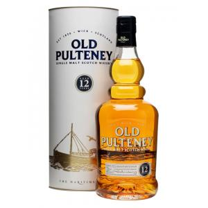 Old Pulteney 12 Year Old Single Malt Scotch Whisky - 70cl 40%