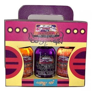 Old Skool Gin Liqueur 3x20cl Boom Box Gift Set