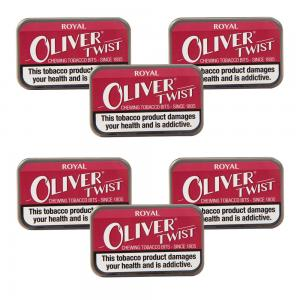 Oliver Twist Royal - Smokeless Tobacco Bits 7g Pack x 6 (6)