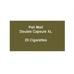 Pall Mall Double Capsule XL - 1 Pack of 23 Cigarettes (23)