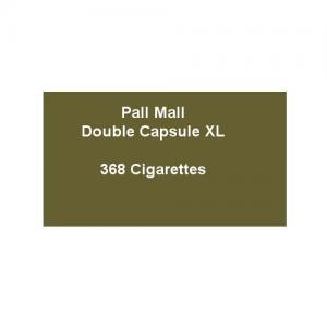 Pall Mall Double Capsule XL - 16 Packs of 23 Cigarettes (368)