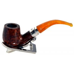 Peterson Rosslare Royal Irish 69 Silver Mounted Fishtail Pipe (PE203)