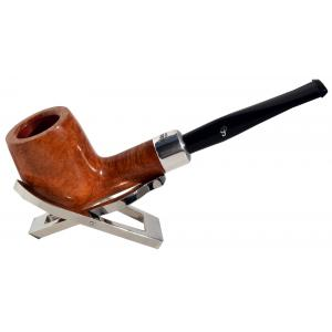Peterson Natural Army X105 Silver Mounted Fishtail Pipe (PE685)