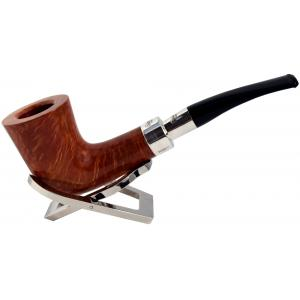Peterson Spigot Natural XL22 Silver Mounted Fishtail Pipe (PE686)