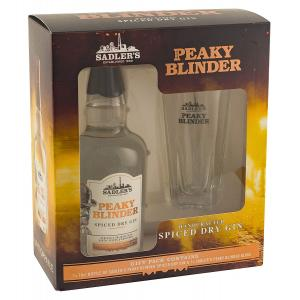 Peaky Blinders Gin Glass Pack