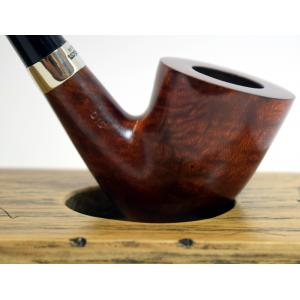 Peterson Churchwarden D15 Smooth Nickel Mounted Fishtail Pipe (PEC038)