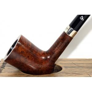 Peterson Churchwarden D17 Smooth Nickel Mounted Fishtail Pipe (PEC193)