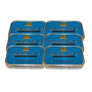 Barkley's Mints – Peppermint Tin – 6 x 50g (300g)