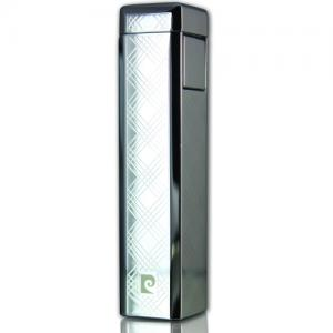 Pierre Cardin - Elegant Full Cap Lighter - Chrome Tartan