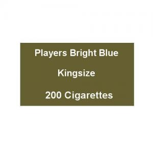 Players Bright Blue Kingsize - 10 Packs of 20 Cigarettes (200)