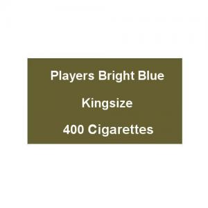 Players Bright Blue Kingsize - 20 Packs of 20 Cigarettes (400)