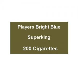 Players Bright Blue Superking - 10 Packs of 20 Cigarettes (200)