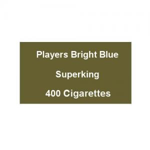 Players Bright Blue Superking - 20 Packs of 20 Cigarettes (400)