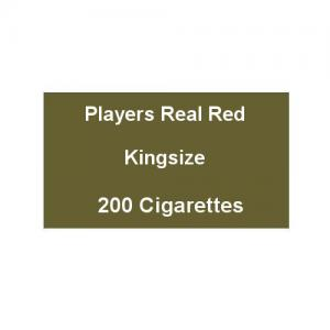 Players Real Red Kingsize - 10 Packs of 20 Cigarettes (200)