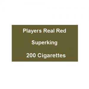 Players Real Red Superking - 10 Packs of 20 Cigarettes (200)